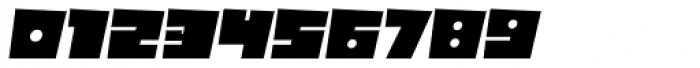 Box10 Oblique Font OTHER CHARS