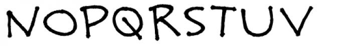 Boxajoy Font UPPERCASE