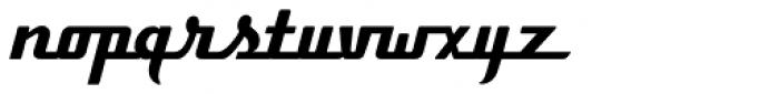 Boxer Script JF Font LOWERCASE