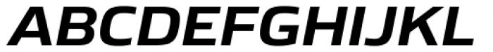 Boxley Bold Italic Font UPPERCASE