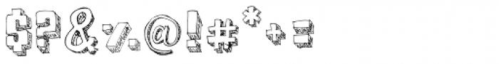 BoxyBlocks Original Font OTHER CHARS