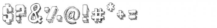 BoxyBlocks Font OTHER CHARS