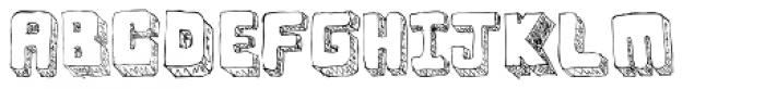 BoxyBlocks Font UPPERCASE