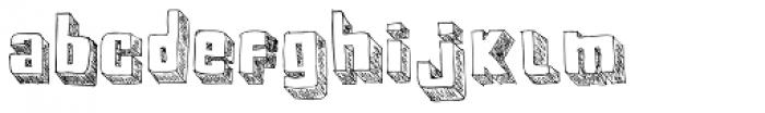 BoxyBlocks Font LOWERCASE