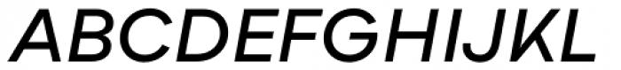 Bozon Demi Bold Italic Font UPPERCASE