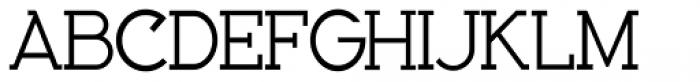 Bozue Regular Font UPPERCASE