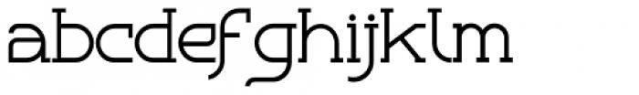 Bozue Regular Font LOWERCASE