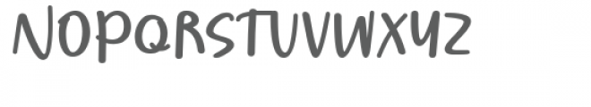 Borjuis Font UPPERCASE
