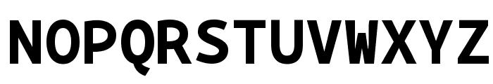 BPmono Bold Font UPPERCASE