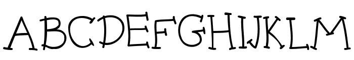 BPmouse Font UPPERCASE