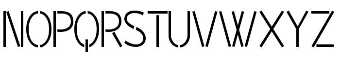 BPpong Font UPPERCASE