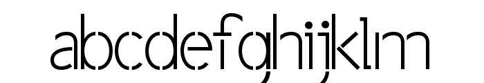 BPpong Font LOWERCASE