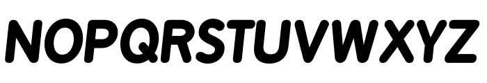 BPreplay-BoldItalic Font UPPERCASE