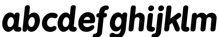 BPreplay-BoldItalic Font LOWERCASE