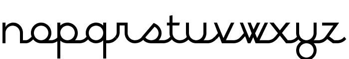 BPscript Font LOWERCASE