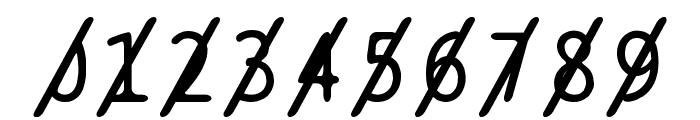 BPtypewriteSlashed Font OTHER CHARS
