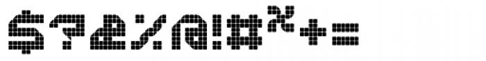 Bpositive Regular Font OTHER CHARS