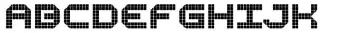Bpositive Regular Font UPPERCASE