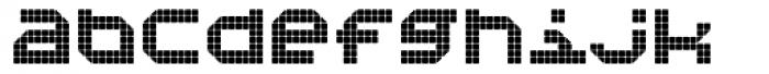 Bpositive Regular Font LOWERCASE