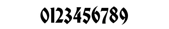 Bradley DJR Variable Font OTHER CHARS