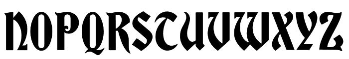 Bradley DJR Variable Font UPPERCASE