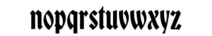 Bradley DJR Variable Font LOWERCASE