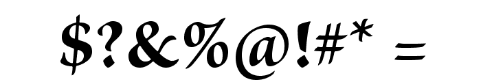 BriosoPro-Bold Font OTHER CHARS