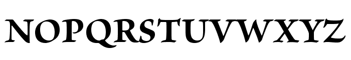 BriosoPro-Bold Font UPPERCASE