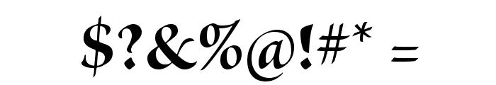 BriosoPro-BoldDisp Font OTHER CHARS