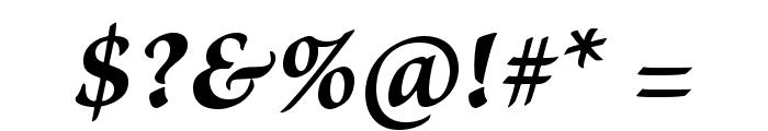 BriosoPro-BoldItCapt Font OTHER CHARS