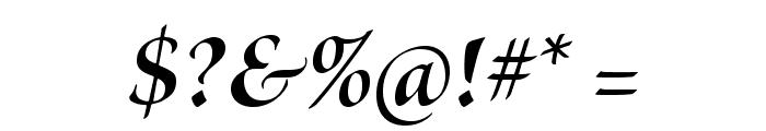 BriosoPro-BoldItDisp Font OTHER CHARS