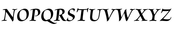 BriosoPro-BoldItSubh Font UPPERCASE