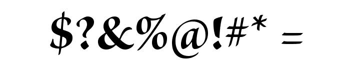BriosoPro-BoldSubh Font OTHER CHARS