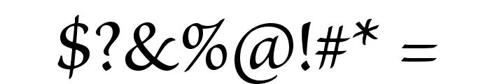 BriosoPro-Capt Font OTHER CHARS