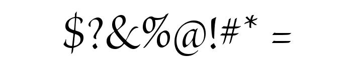 BriosoPro-Disp Font OTHER CHARS