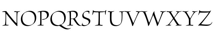 BriosoPro-Disp Font UPPERCASE