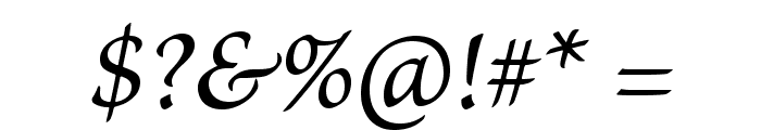 BriosoPro-ItCapt Font OTHER CHARS