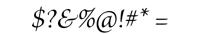 BriosoPro-ItSubh Font OTHER CHARS