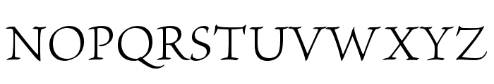 BriosoPro-Light Font UPPERCASE