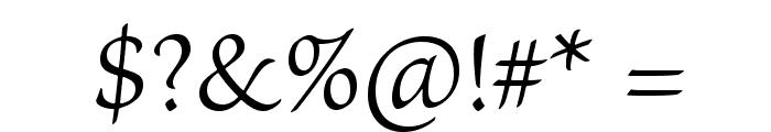BriosoPro-LightCapt Font OTHER CHARS