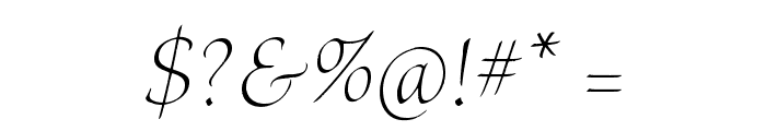 BriosoPro-LightPosterIt Font OTHER CHARS