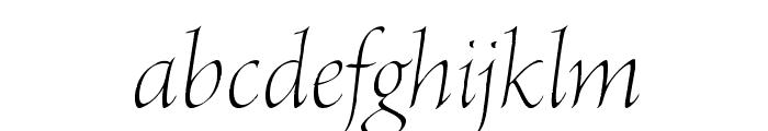 BriosoPro-LightPosterIt Font LOWERCASE