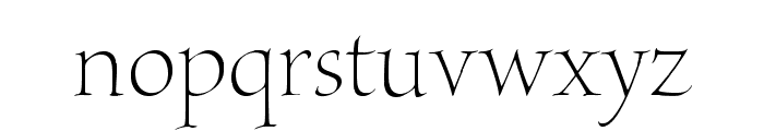 BriosoPro-LightPoster Font LOWERCASE