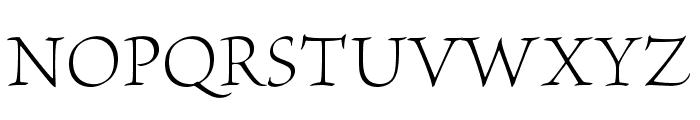 BriosoPro-LightSubh Font UPPERCASE