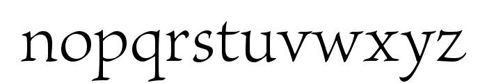 BriosoPro-Light Font LOWERCASE