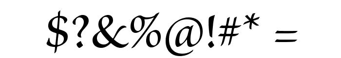 BriosoPro-Medium Font OTHER CHARS