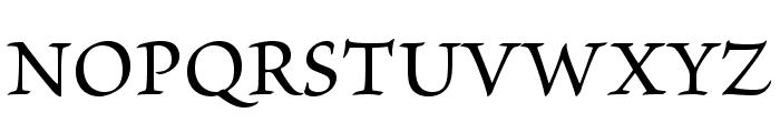 BriosoPro-Medium Font UPPERCASE