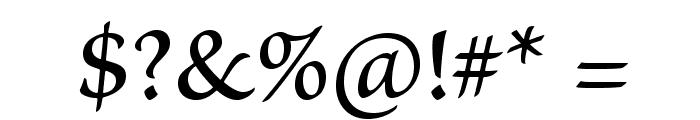 BriosoPro-MediumCapt Font OTHER CHARS