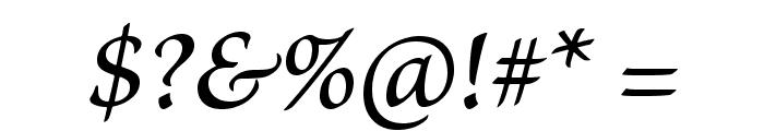 BriosoPro-MediumItCapt Font OTHER CHARS
