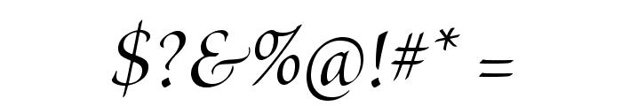 BriosoPro-MediumItDisp Font OTHER CHARS